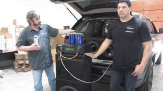 SMD / D'Amore Engineering AD-1 Amp Dyno, Capacitor Testing Part 1 (Continuous Sine)