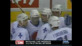 getlinkyoutube.com-1995 NHL ECQF New York Rangers vs Quebec Nordiques (Part 1 of 3)