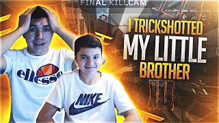 getlinkyoutube.com-I TRICKSHOTTED MY LITTLE BROTHER! BO3 1v1