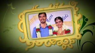 Meera with Sarath - A Drop Matrix Wedding