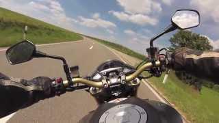 getlinkyoutube.com-Test Ride Honda CB 1000R - Pure Sound, No Music!