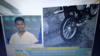 getlinkyoutube.com-Menino que imita moto - Hoje em Dia na Record 17 05 2013