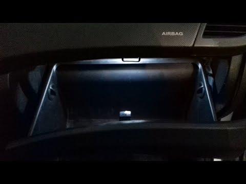 Подсветка бардачка Хендай Солярис (Hyundai Solaris). Делаем подсветку в бардачок самостоятельно