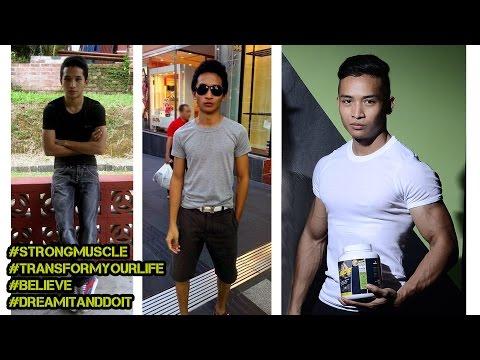 Kurus Kering ke Smart Body Transformation Motivation | Strongman Fitness