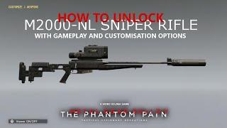 getlinkyoutube.com-MGSV: TPP - How To Unlock M2000-NL Tranquiliser Sniper (Best Non-Lethal Weapon)