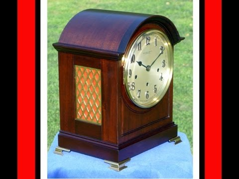 Winterhalder & Hofmeier Westminster Chime Clock - Antique - Striking and Chiming