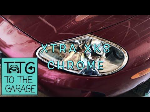 CHROME TRIM FOR XK8