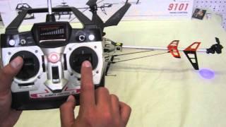 getlinkyoutube.com-Aprende como volar un Helicoptero Double Horse 9053, 9101 Tutorial guia