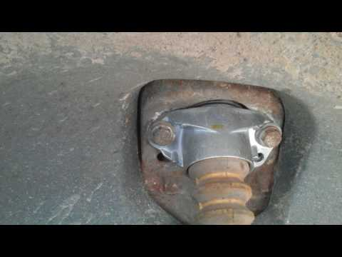 Устронение стука в задней части авто. Гольф 4