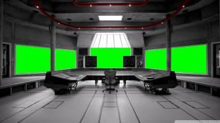getlinkyoutube.com-music recording studio in green screen free stock footage