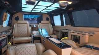 getlinkyoutube.com-Mercedes Benz V Class VIP design by TRIMO.COM.TR