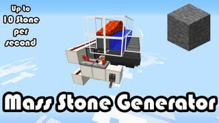 getlinkyoutube.com-Mass Stone Generator 1.8 [10 Stone per sec] (Smooth Stone!)