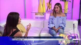 Gaby Romero habló con Alice Yacaman sobre el maquillaje de otoño