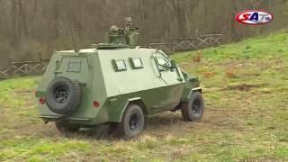 getlinkyoutube.com-Oklopno vozilo domaće proizvodnje Palanca Negra– Emisija SAT 20.03.2016.
