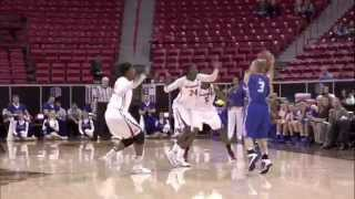 Mountain West Conference 2014 Woman Basketball San Diego vs Air Force Highlights