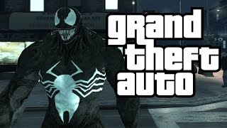 getlinkyoutube.com-GTA 4: SPIDERMAN VS VENOM! Spiderman Mod With Webs VS Venom (GTA Spiderman VS Venom Mod)