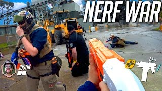 getlinkyoutube.com-Nerf War: Dust Factory