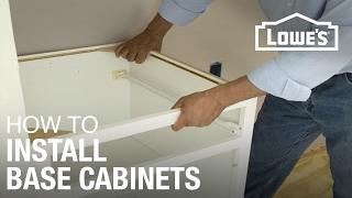 getlinkyoutube.com-How to Install Base Cabinets
