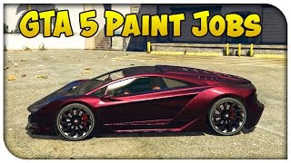 getlinkyoutube.com-GTA 5 Online - TOUCH UP TUESDAY! (Metallic Rose, Infernoe, Nismo Orange & More) [Cool Paint Jobs]