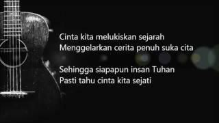 Bunga Citra Lestari   Cinta Sejati ( OST. Habibie Ainun)   (Official Lyric Video)