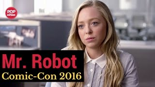 SDCC 2016: Portia Doubleday de Mr. Robot
