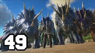 getlinkyoutube.com-EJERCITO DE TRIKES | ARK: Survival Evolved #49 Con Mods