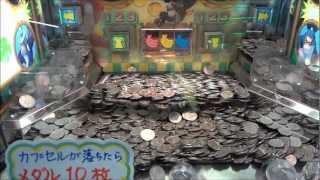 getlinkyoutube.com-【メダルゲーム】約15000円分のメダルを一気に無駄遣いしてみた!