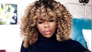 getlinkyoutube.com-My Ombré Crotchet Wig~Tutorial~