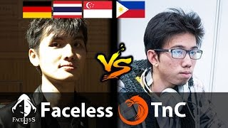 Faceless vs TnC - [RAID BOSS OD] - Dota 2 7.02