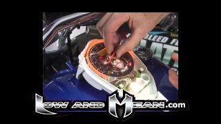 getlinkyoutube.com-Vulcan 900 Speedo Face Install from Low and Mean