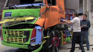 Volvo FH - testy bezpieczeństwa