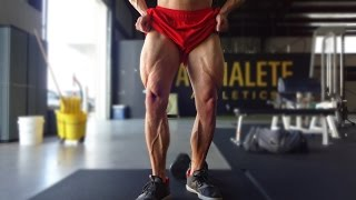 getlinkyoutube.com-Big Legs Without Squats?? | Alphalete Leg Workout | Grubbsfit Productions