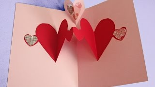 getlinkyoutube.com-Easy pop up heart card making tutorial (to make with kids not just for Valentine's)