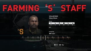 getlinkyoutube.com-MGSV - Farming 'S' Staff