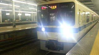 getlinkyoutube.com-小田急8000形LED前照灯車 夜間前面展望 渋沢~新松田 8258F+8058F