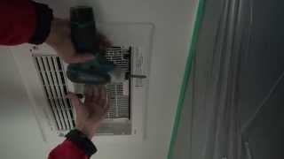 getlinkyoutube.com-TOTO サザナ 浴室換気暖房乾燥機TYB211G 施工工事
