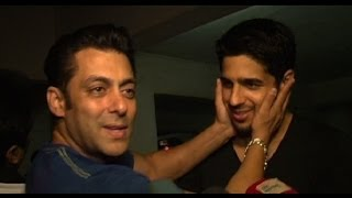 "getlinkyoutube.com-""Sidharth Has My Blessings"" - Salman Khan"