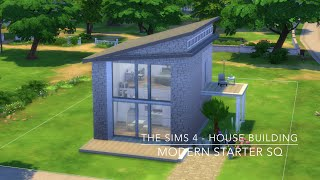 getlinkyoutube.com-The Sims 4 - House Building - Modern Starter SQ