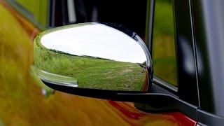 新型ハスラー ドアミラーカバーをメッキタイプに交換してみた件
