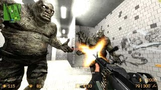 getlinkyoutube.com-Counter Strike Source - Zombie mod Zombie Horror Boss fights - Multiplayer Gameplay on Subway map