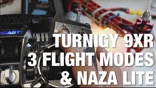 getlinkyoutube.com-Turnigy 9XR 3 Position Switch for Different Flight Modes w/ NAZA Lite and TBS Discovery Quadcopter