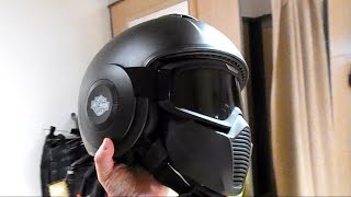 getlinkyoutube.com-Great Harley-Davidson Swat Helmet - better than Shark?