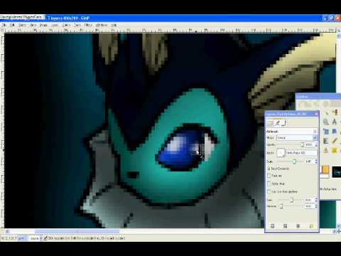 vaporeon speed paint