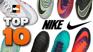 getlinkyoutube.com-Top 10 Nike Boots Right Now! Mercurial, Magista, Hypervenom, Tiempo Cleats