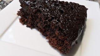 getlinkyoutube.com-Cake au chocolat rapide et facile...كيك بالشوكولا بمقادير بسيطة
