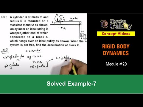 Solved Example on Rotational Motion (ROT12X3)