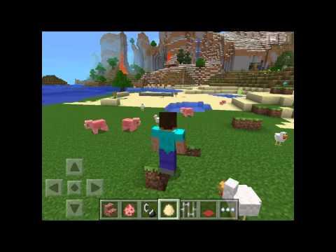 Actualización: Minecraft PE 0.8.0 - Muros De Piedra, Barras De Hierro, Encendedor En Creativo Y Más