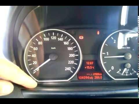 Обзор температуры двигателя BMW E87