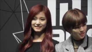 getlinkyoutube.com-151202 TWICE 2015MAMA meetandgreet Tzuyu focus #ツウィ #쯔위