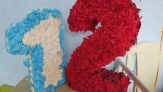 getlinkyoutube.com-DIY: как сделать розочки из салфеток | PolinaBond